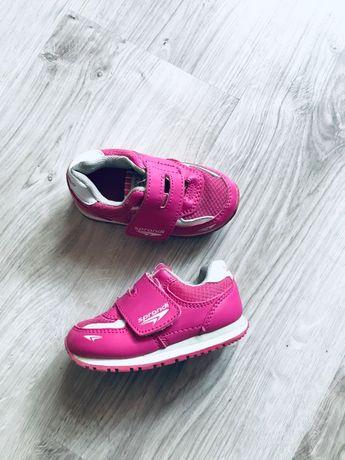 buty buciki różowe adidasy sprandi rozmiar 22 stan idealny