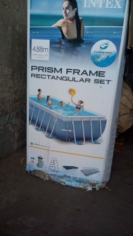 Продам бассейн б/у в хорошем состоянии.