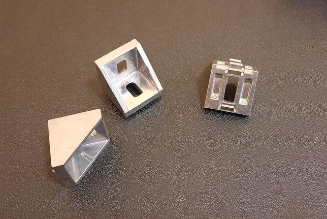 Уголок алюминевый для конструкционного профиля 30 мм