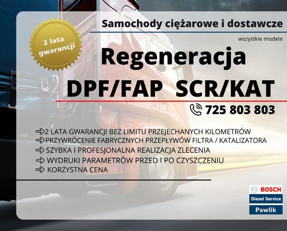 Czyszczenie Regeneracja Filtrów Filtra DPF i FAP Gwarancja FV TIR