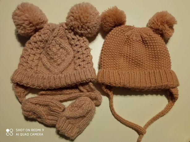 Zara czapka dziewczęca