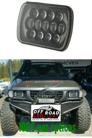 Faróis led Jeep # Nissan