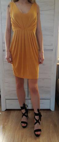 Sukienka żółta M 38