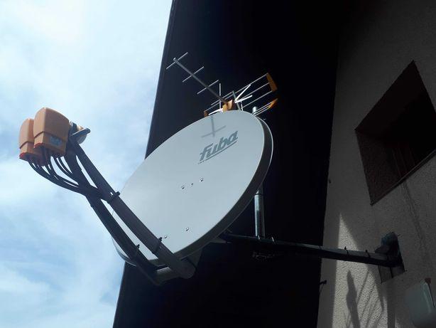 Montaż Anten DVB-T i SAT serwis ,naprawa NC+,Polsat 4K