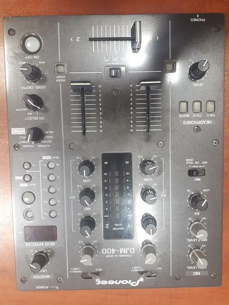 Mikser Pioneer DJM-400 2 Channel DJ MIXER
