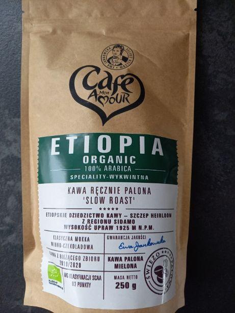 Kawa Etiopia Organic 250g Mielona