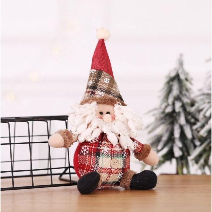 Figurka Świąteczna Boże Narodzenie Siedzący Mikołaj 25 Cm Katowice - image 1