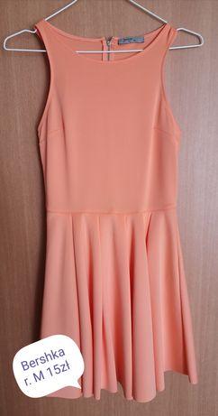 Pomarańczowa sukienka bershka S