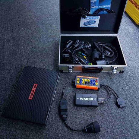 Wabco диагностика грузовиков и прицепов - полный комплект под ключ