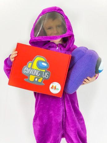 Кигуруми Among Us пижама Амонг Ас комбинезон костюм для девочки