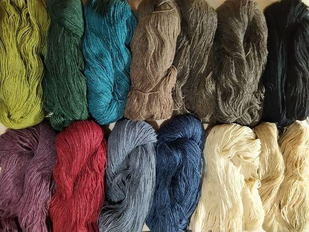 Пряжа для вязания 1 кг 400 грн  цена снижена можно разными цветами