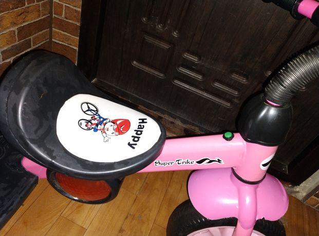 Детский 3-х колесный велосипед