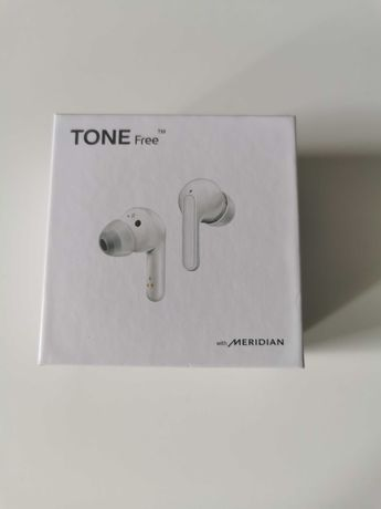 LG TONE free,HBS-FN4, słuchawki bluetooth lg free fn4 dokanałowe białe
