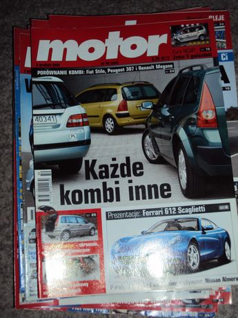 Czasopisma Motor 2003