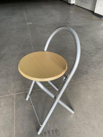 Krzeslo hoker stelaz szary
