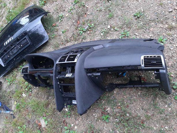 Deska rozdzielcza konsola kokpit peugeot 407 SW 2006r