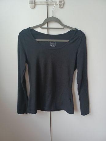 Koszulka gładka Basic czarna esmara S 36 38