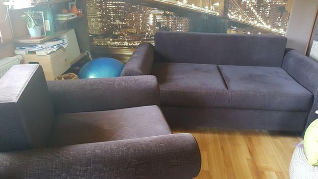 kanapa + fotel do salonu