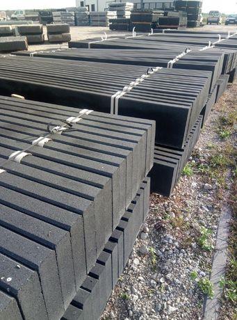 Podmurówki 2,5m wibroprasowane grafit