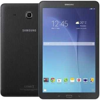 "Tablet Samsung Galaxy Tab E 9.6"" + Capa Oficial Branca"