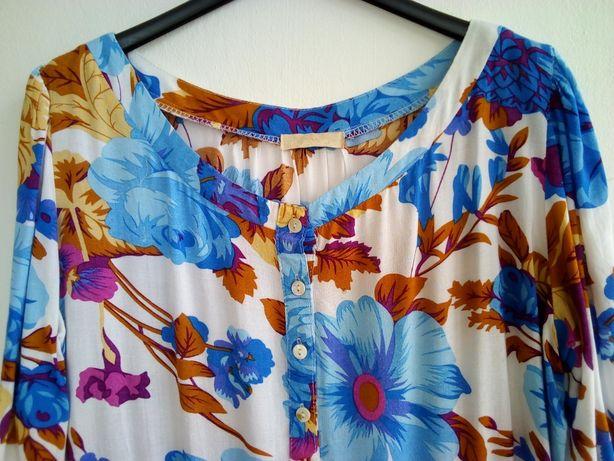 Blusa de verão com flores! - Tamanho L / XL
