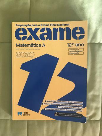 Livro preparação para Exame Matemática A
