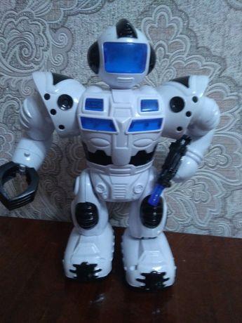 Робот с блайстером
