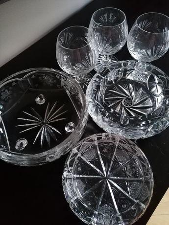 Komplet 6 szt pięknych kryształów -tylko odbiór osobisty.