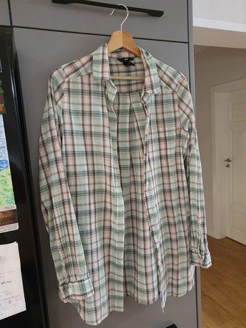 Bawełniana koszula w kratę H&M r. 36
