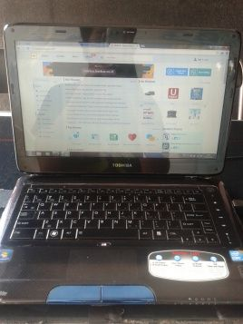 Laptop 15 cali Toschiba satelitte e205 240gb