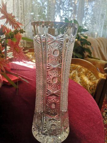 Oryginalny z metką kryształowy wazon Zawiercie