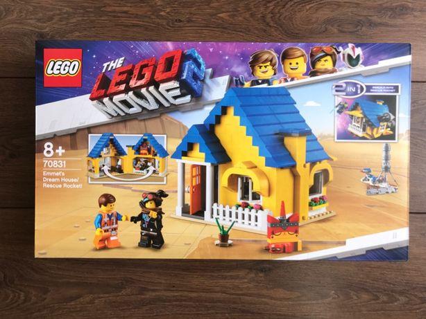 LEGO Movie 2 70831 Dom Emmeta/Rakieta ratunkowa - NOWE