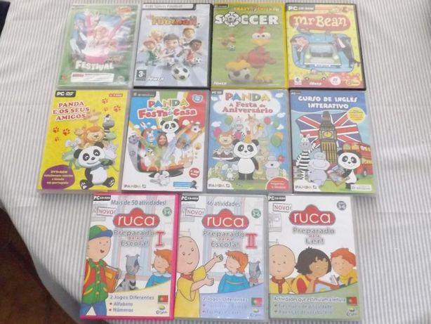 Vários jogos PC infantis originais - 1€ cada