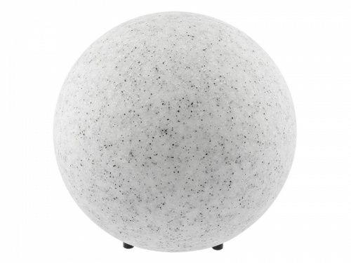 Lampa kula, kamień 38 cm.