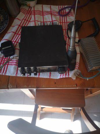 Rádio CB Jackson presidente + antena+rectificador corrente