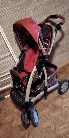 Sprzedam Używany Wózek Graco 3w1 głęboki , spacerówka i fotelik