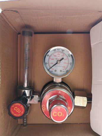 Reduktor Weldman butlowy z rotametrem i podgrzewaczem