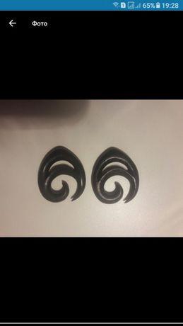 Продам сережки для пирсинга (тоннели,спирали,крюки)