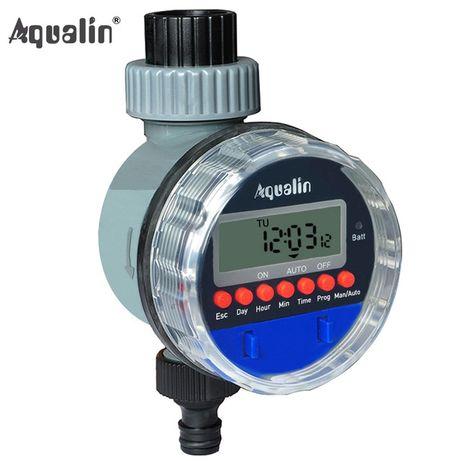 Таймер полива с шаровым клапаном электронный AQUALIN YL21026