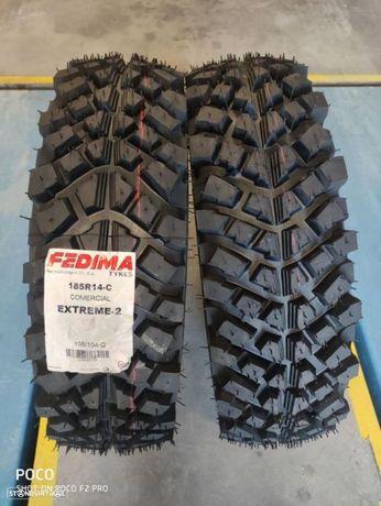 2 pneus 185R14C  Fedima Oferta dos Portes