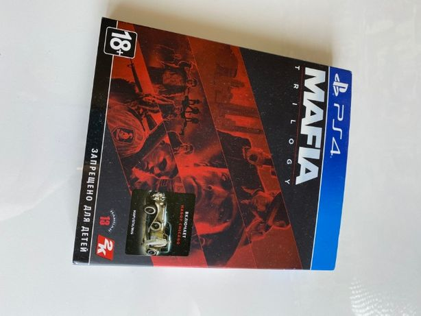 Mafia Trilogy набор Чикаго (PS4, Русская версия)
