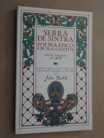 Serra de Sintra - Poema Épico em Seis Cantos de Autor Anónimo...