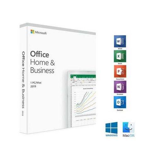 Microsoft office 2019 dom i firma nowy BOX PL