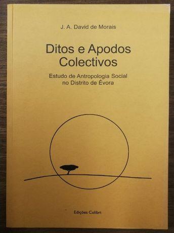 ditos e apodos colectivos, j.a. David de morais, colibri