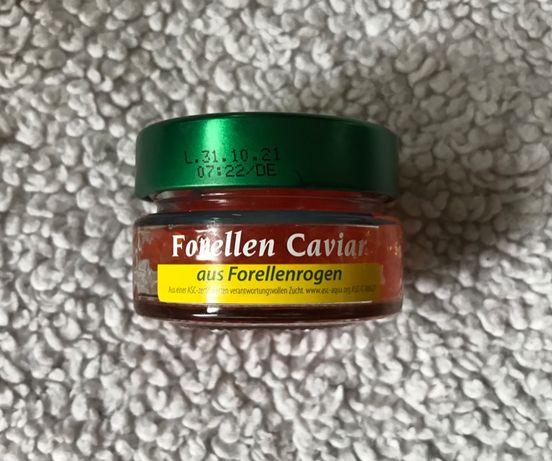 Forellen caviar kawior z ikry pstraga 50g cavior łosos pstrag jesiotr