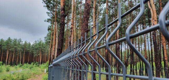 Panele ogrodzeniowe 1,23 Fi4 komplet z podmurówką Dostawa, Montaż