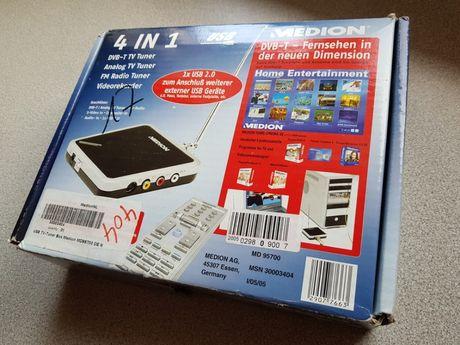 Tuner TV PC Medion MD95700 DVB-T Philips SAA7134 Hybryd USB S-VIDEO