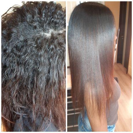 Кератин! Кератиновое выпрямление волос!!!