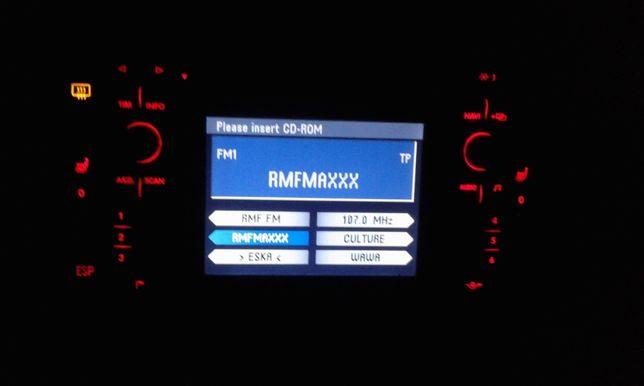Ramka Panel Nawiewu Uchwyt na Kubki VW Golf IV 4 Radio 2 Din Navigacja