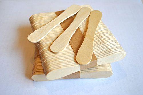 Деревянная палочка магнум, восьмёрка, весло